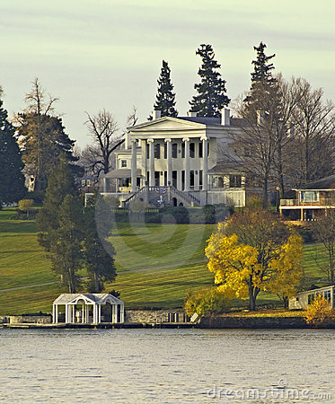 Lakeshore mansion
