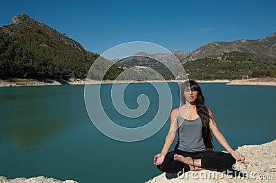 Lakeside peace