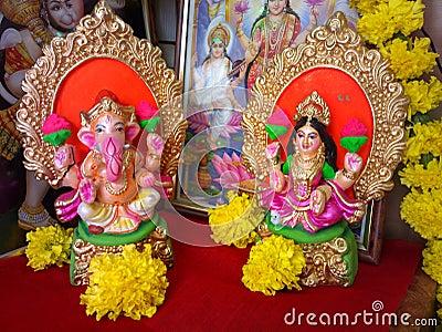 Lakshmi, laxmi, ganesh, ganesha, diwali worship