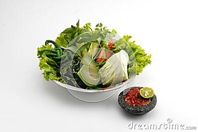 Lalapan salad