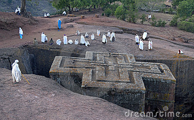 Lalibela Church Editorial Photography