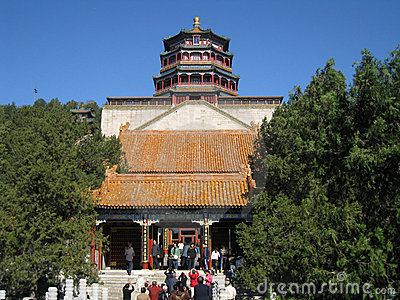 Lama temple Beijing Editorial Photo
