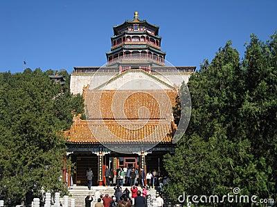 Lama temple Beijing Editorial Photo