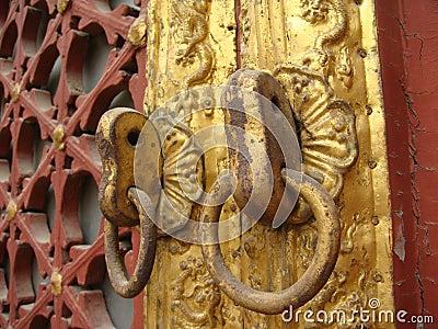 The Lama Temple s knocker