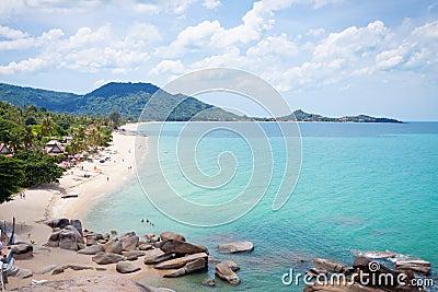 Lamai Beach, Samui island, Thailand.