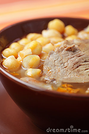 Lamb and chickpea soup