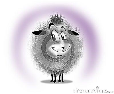 Lamb happy