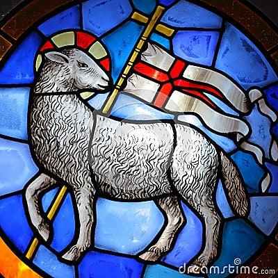 Free Lamb Of God Stock Photography - 45158902