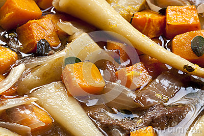 Lamb and Root Vegetable Casserole
