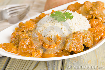 Lamb and Sweet Potato Peanut Stew
