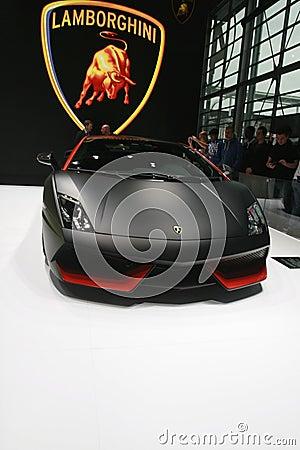 Lamborghini car 2012 Editorial Stock Photo