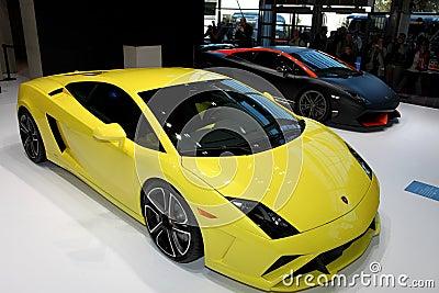 Lamborghini Gallardo LP 560-4 and Supeleggera Editorial Image