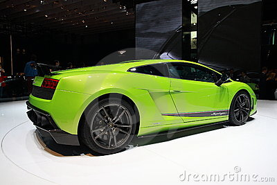 Lamborghini Gallardo LP 570-4 Editorial Stock Image