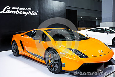 Lamborghini  gallardo lp560-4 Editorial Stock Photo