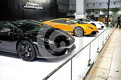 Lamborghini  gallardo lp560-4 LP700 Editorial Stock Image
