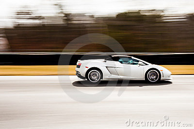 Lamborghini in Motion