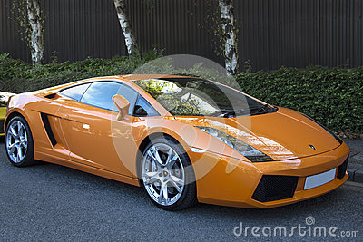 Lamborghini Murcielago Immagine Stock Editoriale