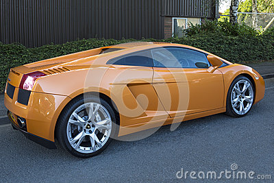 Lamborghini Murcielago 编辑类库存照片