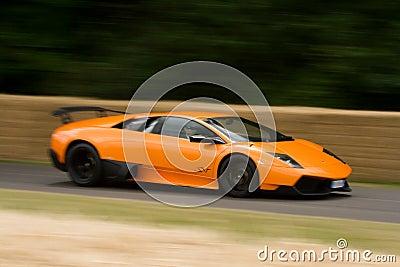 Lamborghini murcielago 670 super veloce Editorial Photo