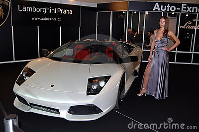 Lamborghini murciélago show Editorial Photo
