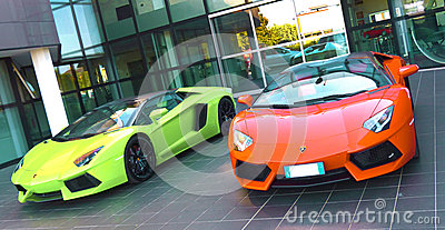 Lamborghini Editorial Photography