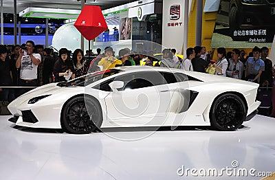 Lamborghini Sport Car Editorial Photography