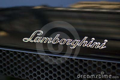 Lamborghini sports car Editorial Stock Photo