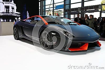 Lamborghini Supperleggera Editorial Stock Image