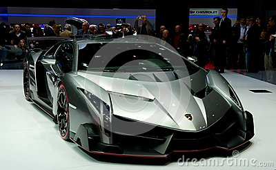 Lamborghini Veneno Editorial Photography