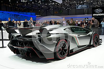 Lamborghini Veneno Editorial Photography