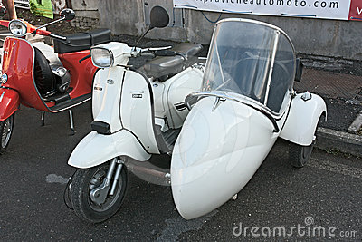 Lambretta sidecar Editorial Photo