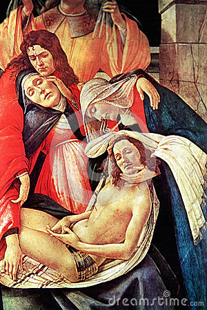 Free Lamentation Over The Dead Christ, A Closeup Royalty Free Stock Image - 49432566