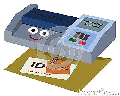 identification card machine