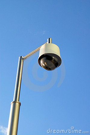 Free Lamp-a-like CCTV Royalty Free Stock Photos - 4516738