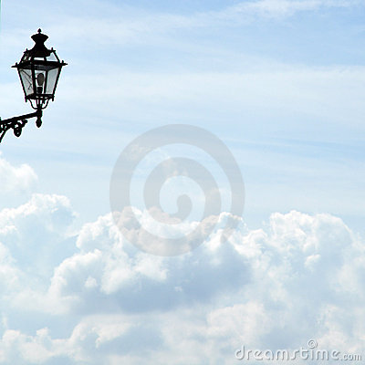 Lamp Above The Sky Royalty Free Stock Photos - Image: 16545288
