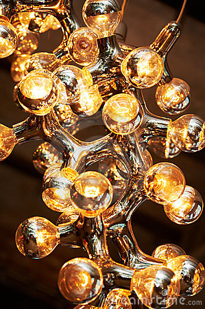 Lamp abstraction of structure of molecule