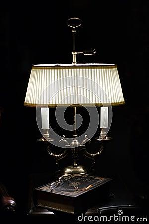 Lamp & Book