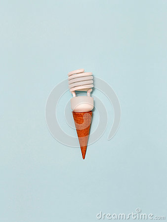Free Lamp Ice Cream Stock Photo - 77150710