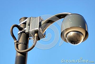 Lamp-a-like CCTV