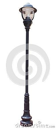 Free Lamp Post Street Road Light Pole Stock Photography - 43173412