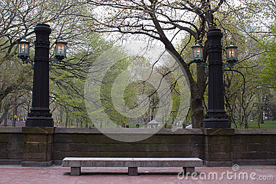 Lamp Posts, Central Park, NY