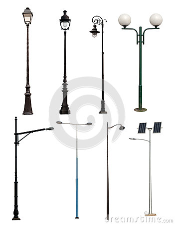 Lamp posts collection