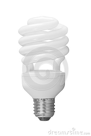 Lamp twister isolated