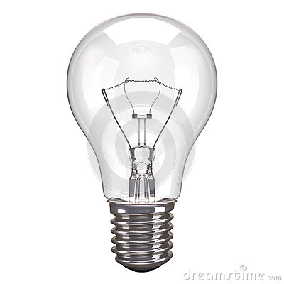 Lamp White Background