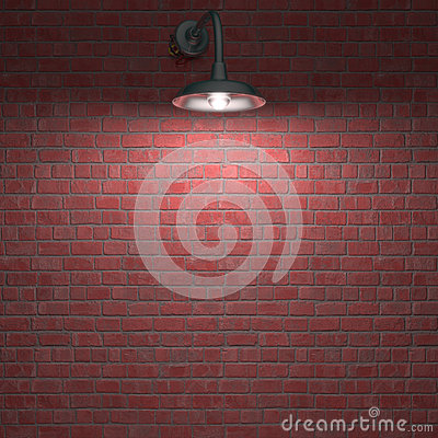 Lampa Przez noc