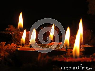 Lampes saintes