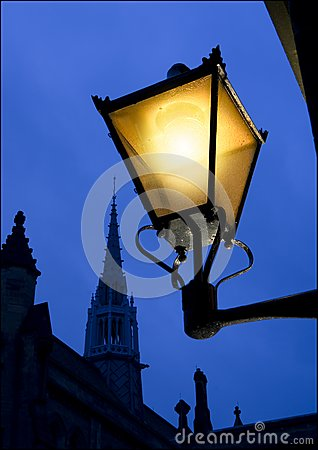 Lampione Antico Fotografia Stock - Immagine: 6810650