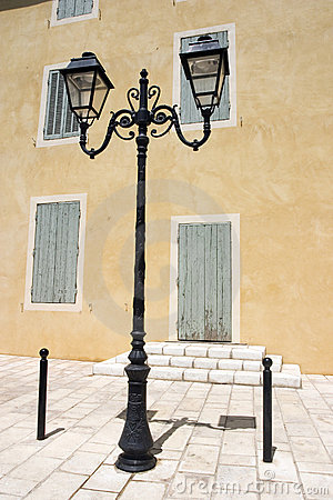 Free Lamplight In South France Royalty Free Stock Photo - 1123845