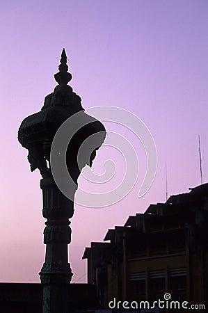 Lampost- Cambodia