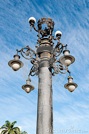 Lamppost old